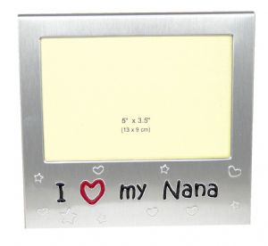 I Love My Nana Photo Picture Frame Gift - 5 x 3.5